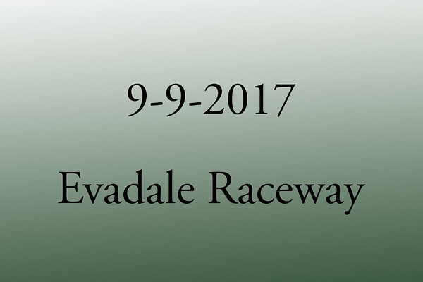 9-9-2017 Evadale Raceway 'Test and Tune'
