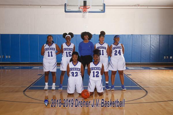20108-2019 JV Girls Basketball