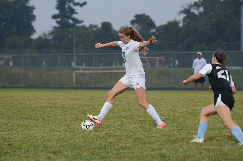 JV Girls Soccer Sept 29 vs C Milton Wright