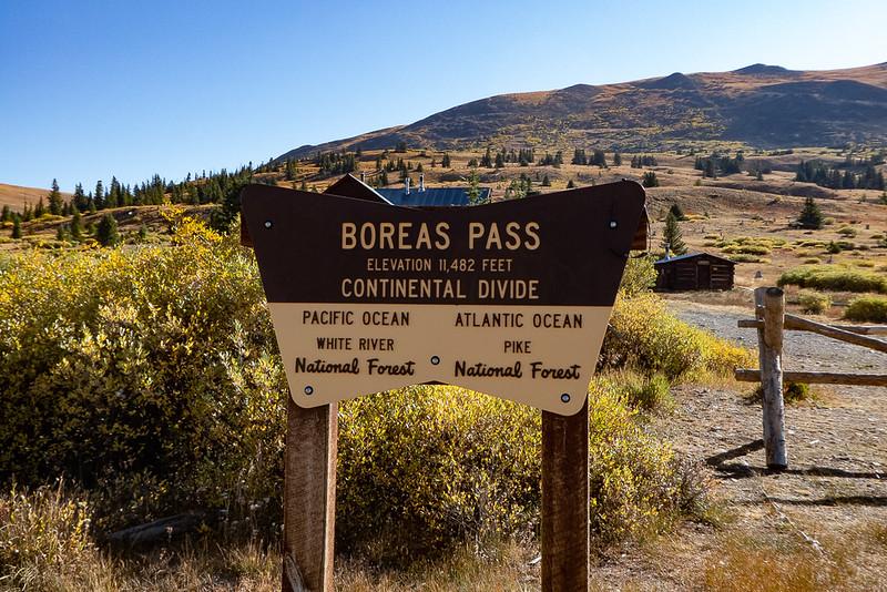 Boreas Pass Trailhead