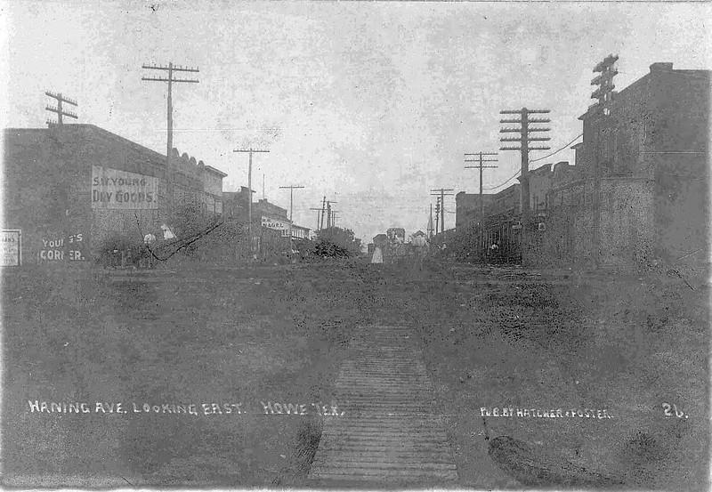 1908 Downtown Howe bw.jpg