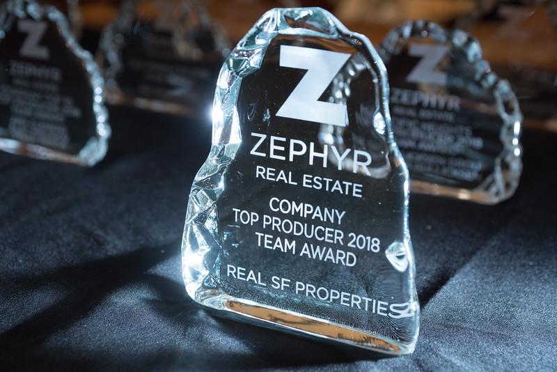 Zephyr - Top Producers - Team Awards 2018
