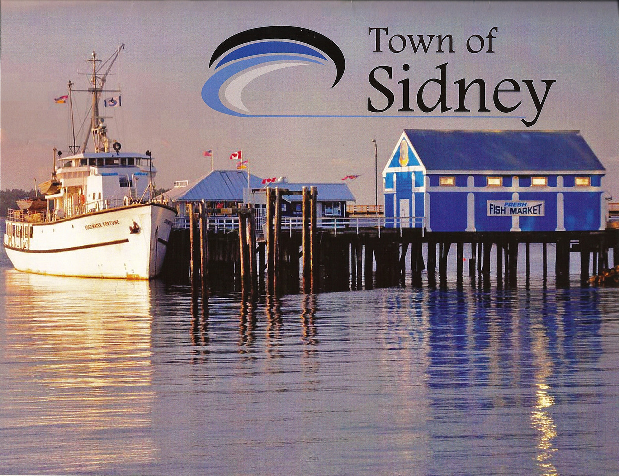front cover, 2010 Town of Sidney calender<br /> Sidney Fish Market (same photo is displayed in the Cairns Sister-City Photo Exhibition, Australia, October 2009)