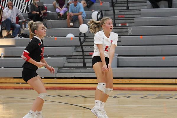 '20 Cardinal Jv, Varsity, Senior Night Girls Volleyball Game