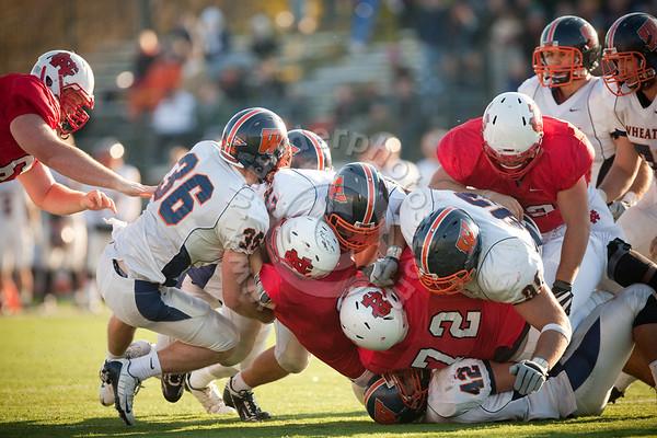 Wheaton College Football vs North Central College (7-27), October 24, 2009