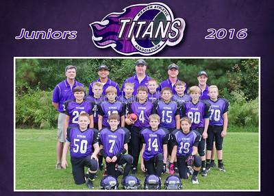 Weaver Juniors Team Photos 10-06-16