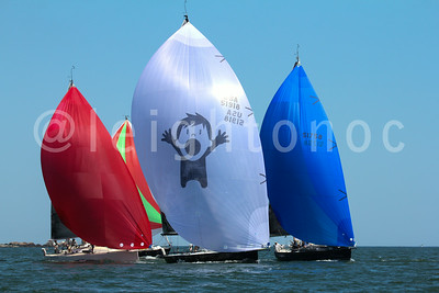 Downwind - Boston Harbor - 2014 Barefoot Regatta