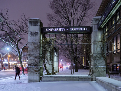Dusk Walk at U of T