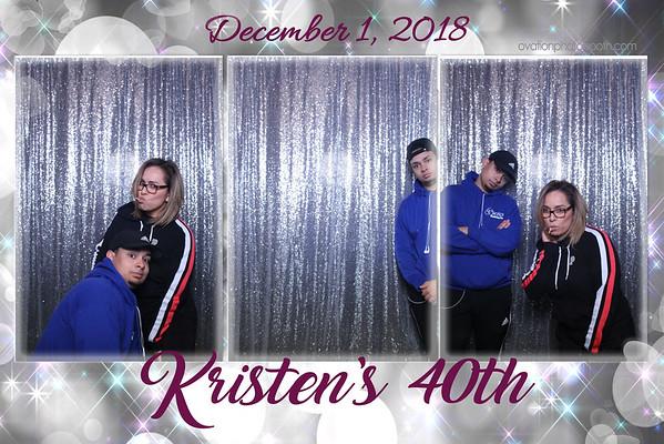 12 1 18 Kristen's 40 Th