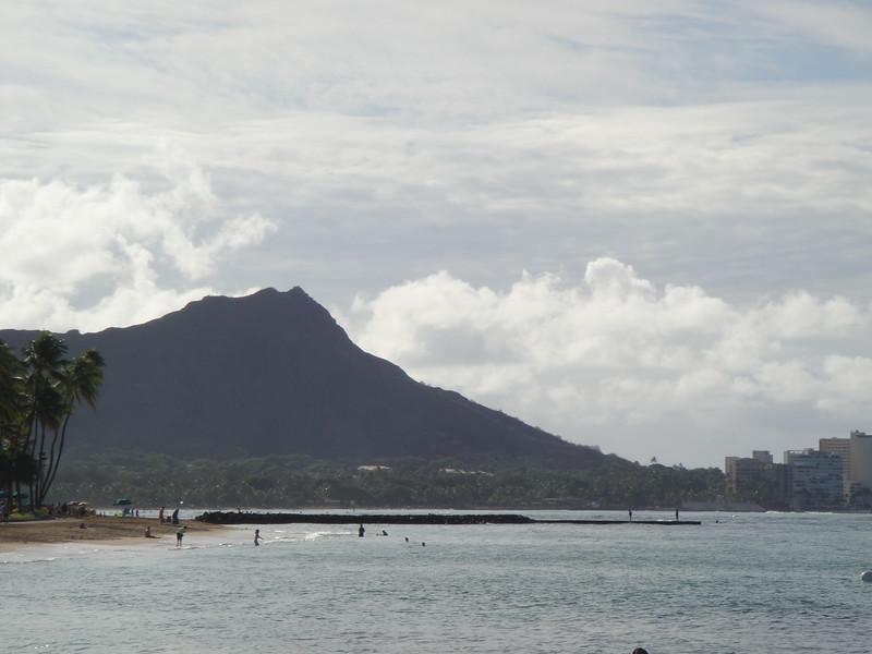 Diamond Head from Waikiki