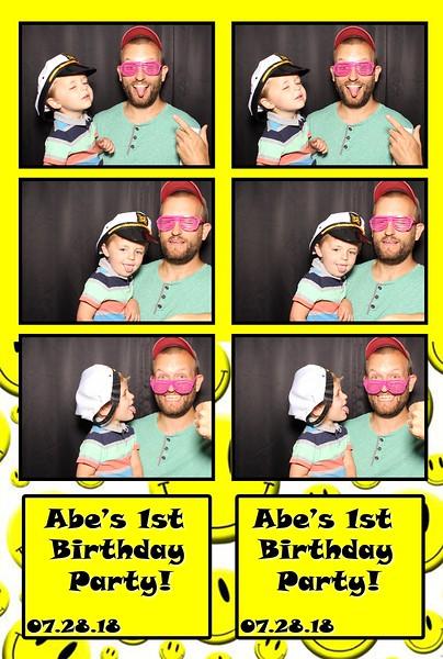 Abe's 1st Birthday (07/28/18)