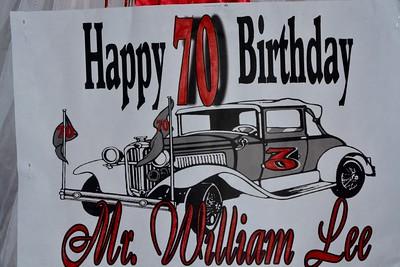 William Lee 70th Birthday July 13, 2019