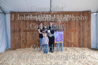 2011 Klein ISD Livestock Show Awards