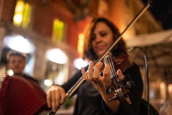 Orchestra Terra Madre al quadrilatero romano