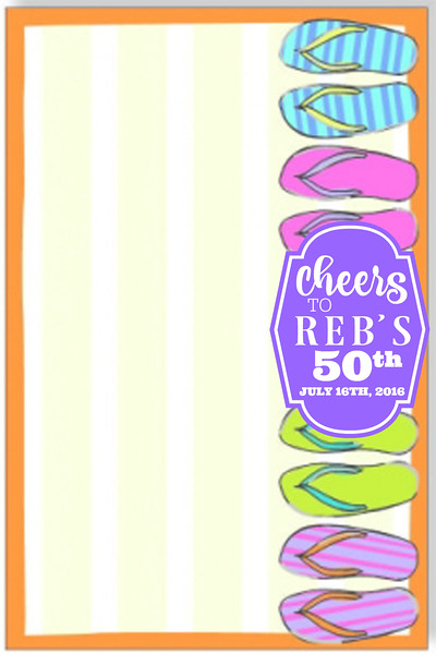 Reb's 50th Birthday   2016
