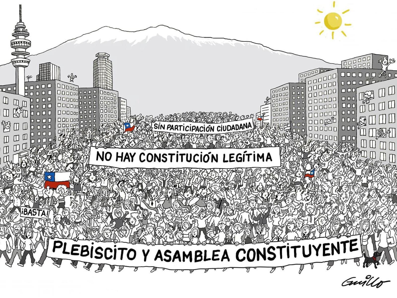 Contra el estado de excepción y por un nuevo pacto social: Una conversación con Chile