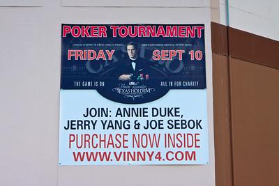 Vincent Lacavalier Texas HoldEm Celebrity Poker Tournament at Derby Lane... Friday September 10, 2010