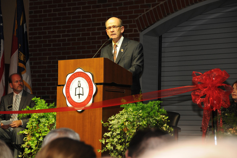 Tucker Center Ribbon Cutting and Events.