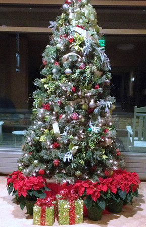 2011 12-04 MJH Lobby Christmas decorations