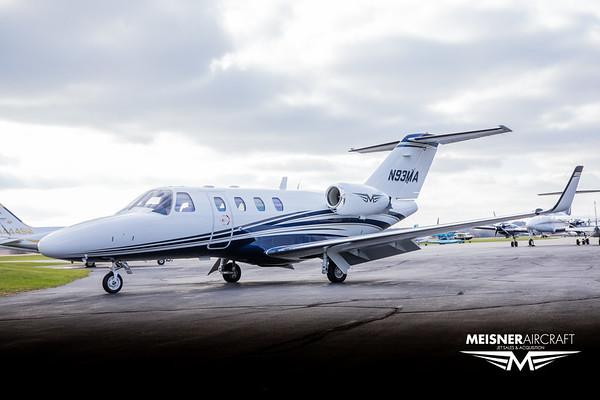 Citation CJ1 N93MA (High Res w/Logo)