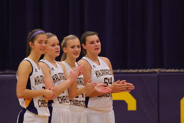 Basketball Girls vs. Comstock - 12/4/14 - KCHS Varsity