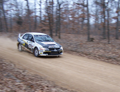 100 Acre Woods Rally America, 2009