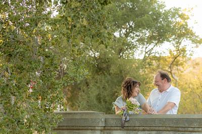 Gina & Todd engagement portrait session