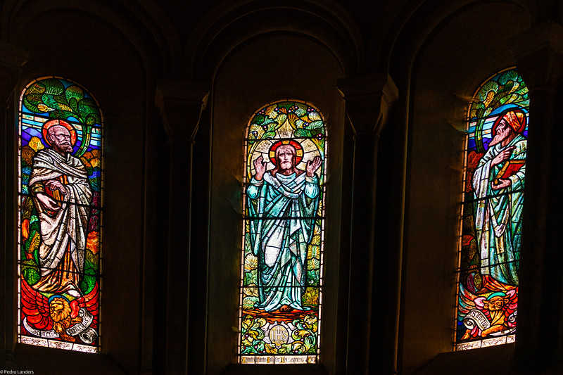 The Holy Evangelist at Killerton - Windows