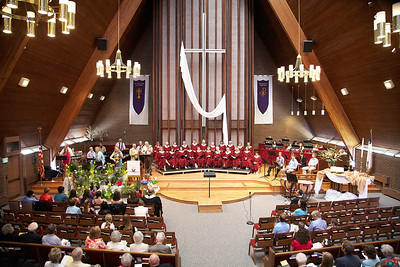 Mountain View UMC 04-08-2012 Easter Sunday 10:30 Service