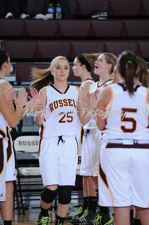 2014 Russell vs Greenup Co. Girls Basketball
