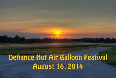 Defiance Hot Air Balloon Festival 08-16-2014