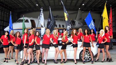 ATEAM C4K RALLY GIRLS POSTER SHOOT @ Jet Source Airplane Hanger
