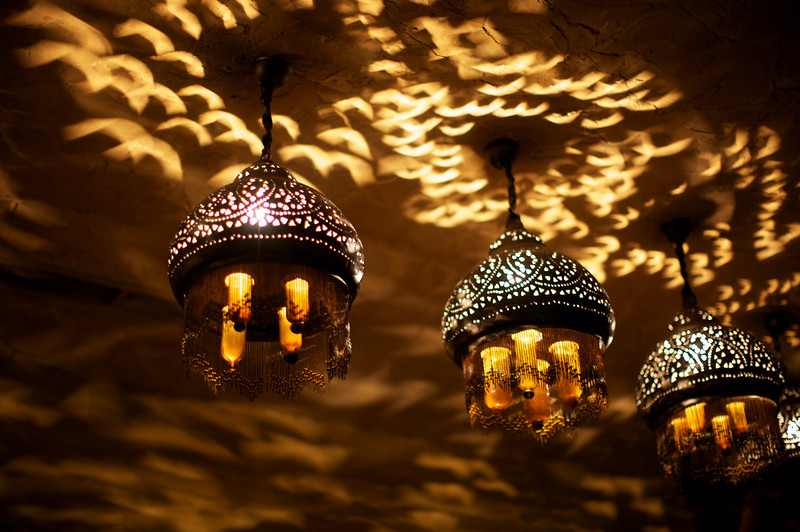 We loved these lights - and even bought one like it for the foyer.