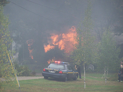Wiscasset House Fire Sept. 2010