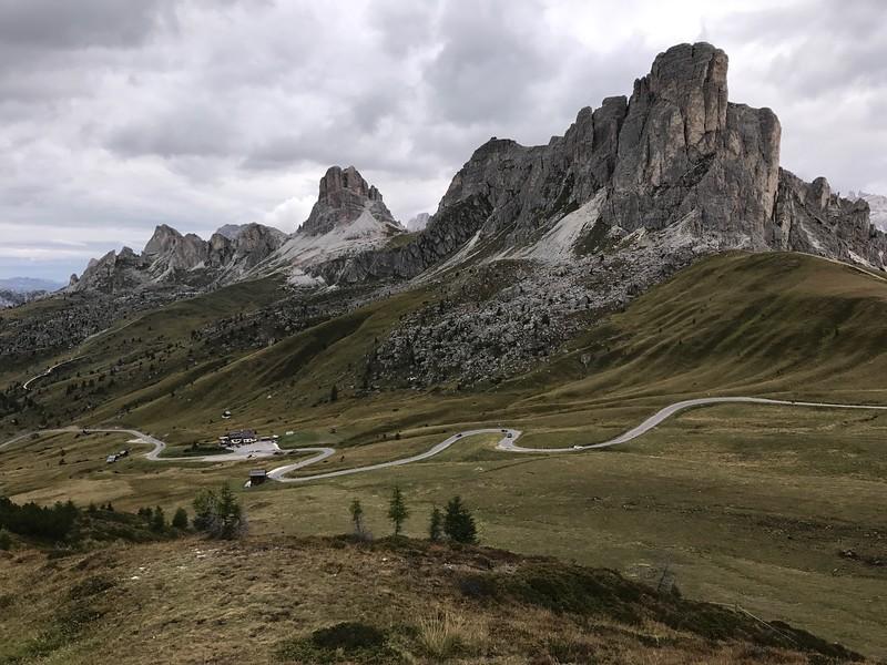 Rifugio Averau to Rifugio Passo Giau