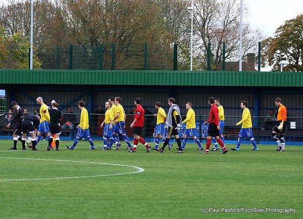 Totton & Eling 4 Lymington Town 1  Wessex League 13/11/10