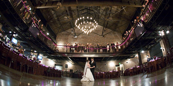 Wedding album: Erin and Cole at Mile High Station
