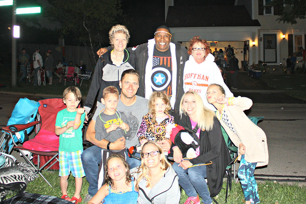 20170703 Back Yard Party & Roselle Fireworks