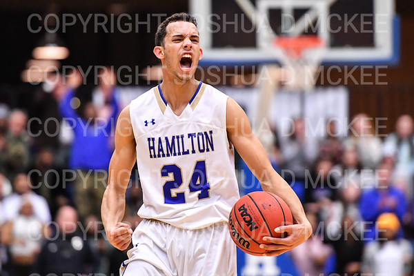 NCAA Men's Basketball 1st Rd: Penn State Behrend v Hamilton 3-1-19