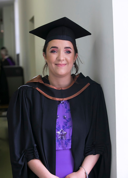 01/11/2018. Waterford Institute of Technology (WIT) Conferring Ceremonies 2018. Pictured is Lisa Martin. Picture: Patrick Browne