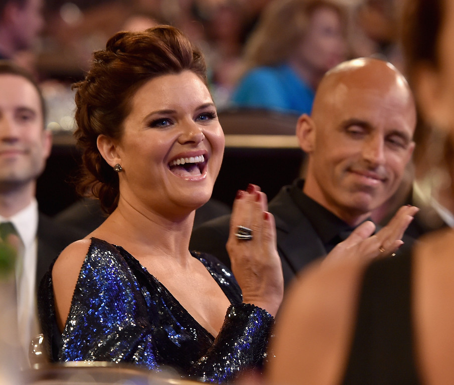 . Actress Heather Tom in the audience during The 41st Annual Daytime Emmy Awards at The Beverly Hilton Hotel on June 22, 2014 in Beverly Hills, California.  (Photo by Alberto E. Rodriguez/Getty Images for NATAS)