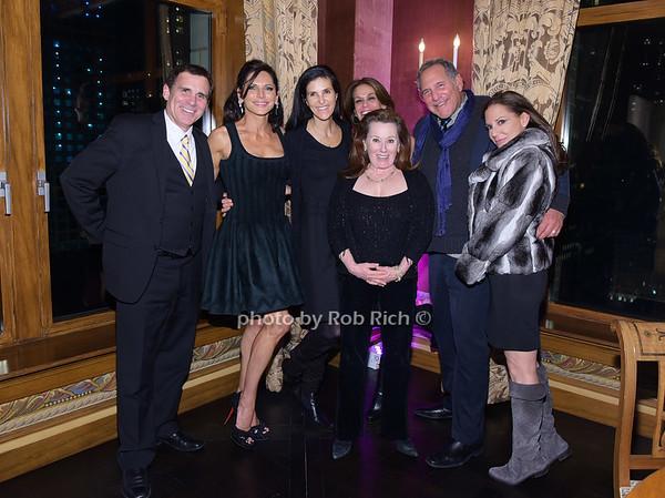 Rob Rich, Sheila Rosenblum, Carol Ann (in front) Ellie Levin, Stuart Gelles,Diane Davis, Chantal Meyers (in front)