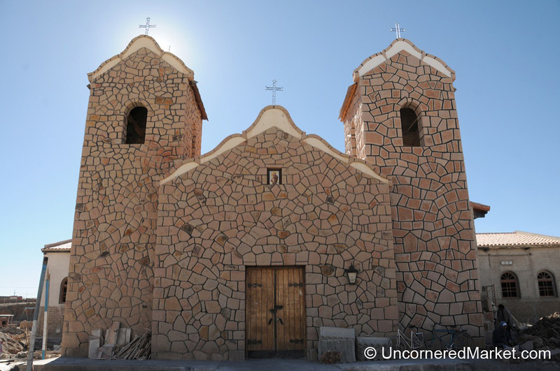 A Cute Little Church in San Antonio de los Cobres - Argentina