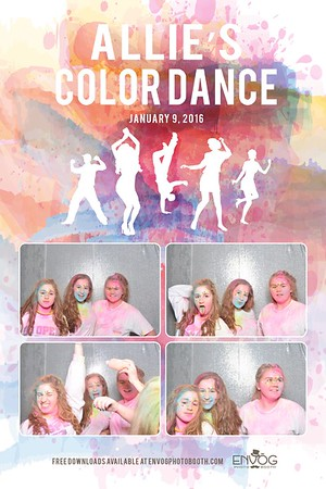 Allie's Color Dance (prints)