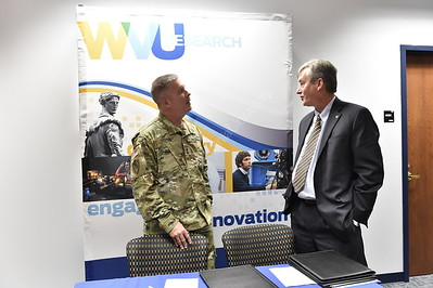 31268 WVU  WV National Guard Cooperative Agreement Signing September 2015