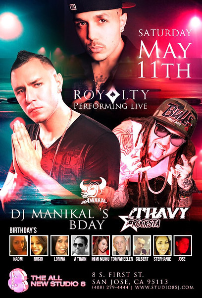 "Royalty Performs (DJ Maniakal""s BDay)"