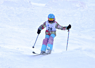 2-25-12 Devo Moguls Championships at A-Basin - Run #2