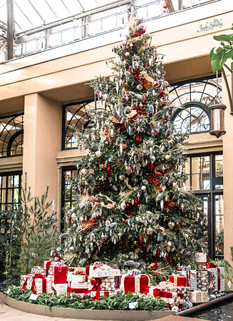 Christmas Trees, Ornaments and Floral Displays