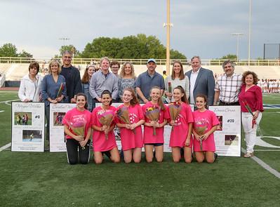 W-L Girls Soccer Senior Night (02 May 2019)