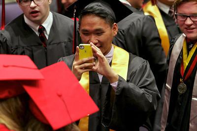 2013, May 24 East Kentwood High School Graduation